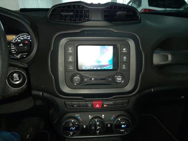Jeep renegade automática limited 6 marchas banco de couro multimídia único dono 2018 - Foto 7