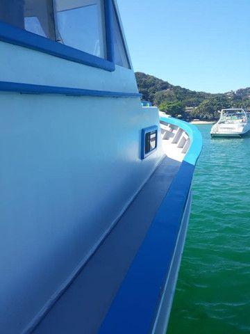 Traineira de mergulho, passeio ou pesca - Foto 3