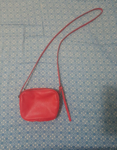 Bolsa cor rosa
