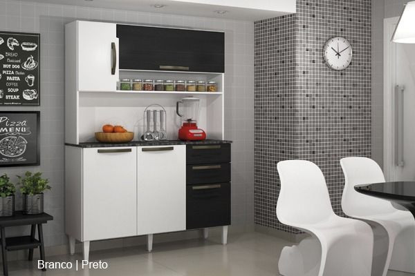 Kit Cozinha Nápoles - Entrega Grátis Fortaleza - Foto 3