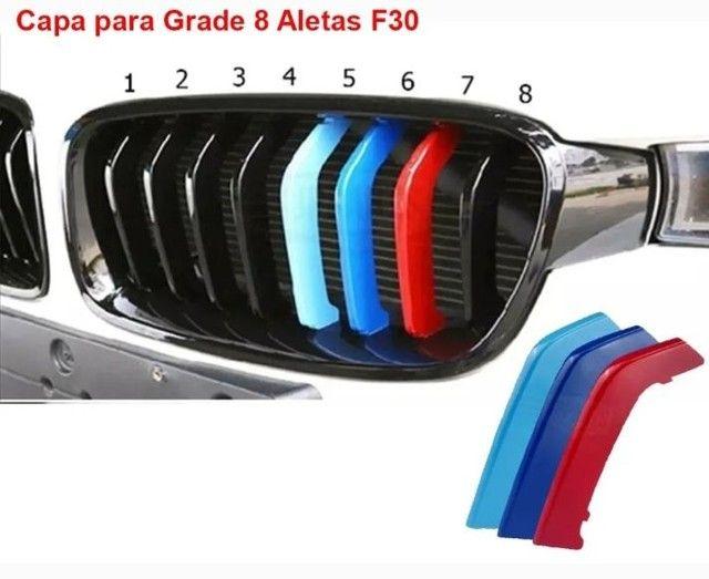 Aplique M3 grade BMW MOTORSPORT tricolor