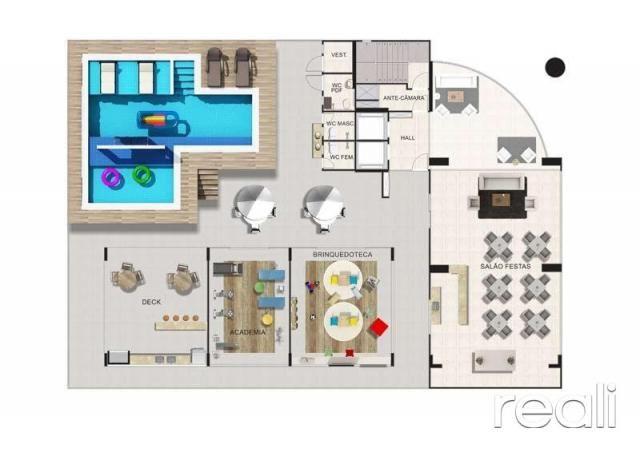 Apartamento à venda com 3 dormitórios em Aldeota, Fortaleza cod:RL453 - Foto 14