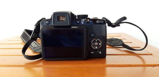 Nikon P500 com Frete Grátis (bateria Fraca) - Foto 2
