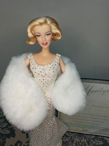 Boneca Barbie Collector Marylin Monroe Hollywood Premiere