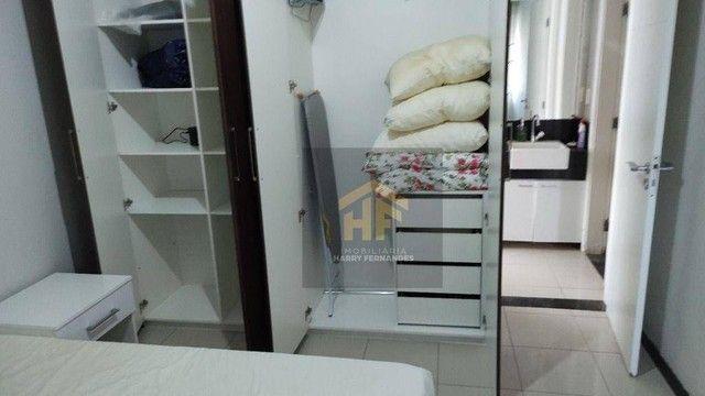 Apartamento com 01 Quarto Mobiliado com Vista pro Mar em Boa Viagem, Recife - Foto 11
