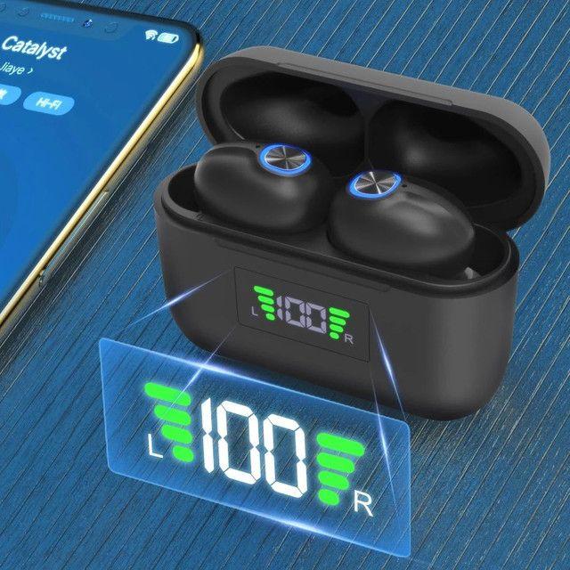 Fone De Ouvido Sem Fio Bluetooth tws f9 - Foto 4