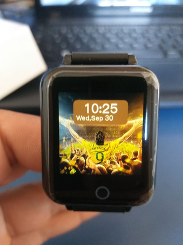 Relógio Smart Hero Band B57 aprova D'água - Foto 2