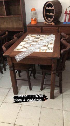 Móveis de qualidade madeira angelin pedra  maciça  - Foto 5