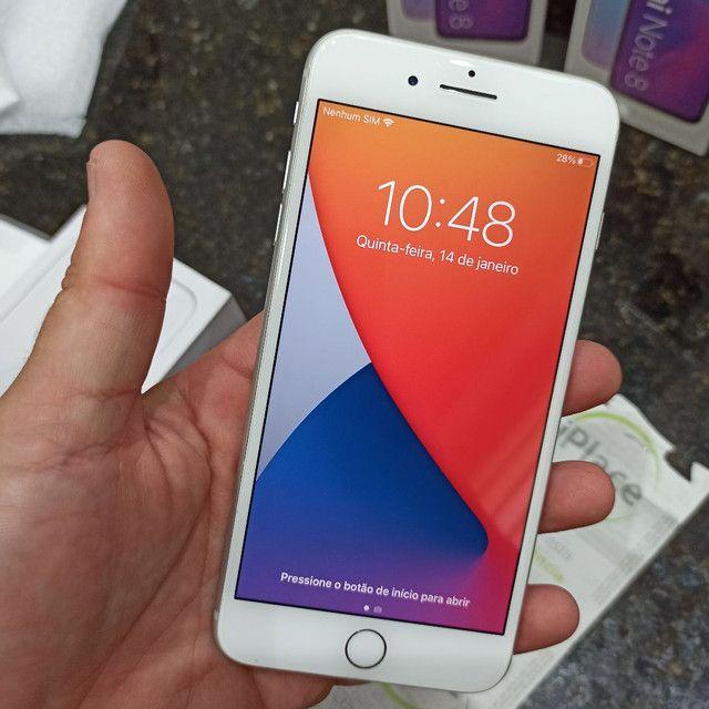 iPhone 8 Plus 64gb, Anatel, impecavel,Ac Trocas !! - Foto 3