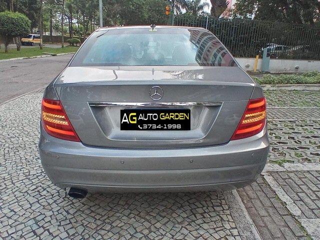 Mercedes Benz c180 2012 cgi(turbo)Blindada n3a+aut/tip+toplinha+couro+absurdamente nova!!! - Foto 5