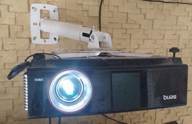 Projetor Benq SP870<br>Aparência de novo - Foto 5