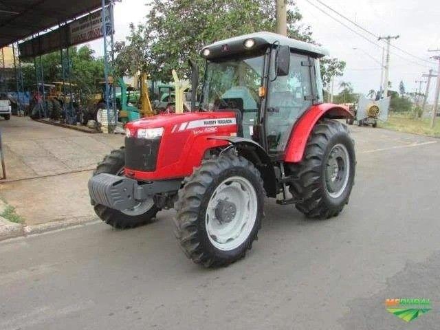 Trator Massey Ferguson 4290 4x4 ano 17 - Foto 2