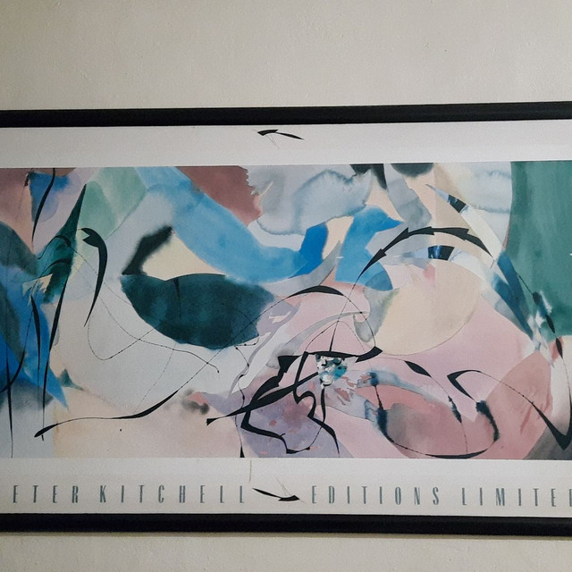 1/7<br><br>Peter Kitchell Boomerang Arrows 1989 Limited Editions Signiert Poster 150x100 CM<br><br>