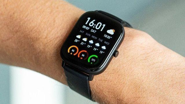 Relógio Smartwatch Amazfit Gts Versão Global Lacrado Original - Loja Natan Abreu - Foto 4