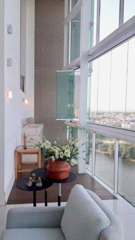 Apartamento com 4 dormitórios à venda, 180 m² por R$ 2.000.000 - Barro Vermelho - Vitória/ - Foto 4