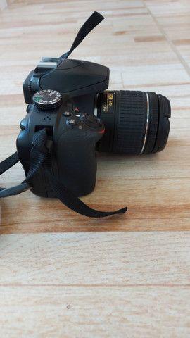 Câmera Nikon D3400 + lente 18-55
