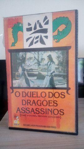 Vhs O Duelo dos Dragões Assassinos/raro/Legendado em português