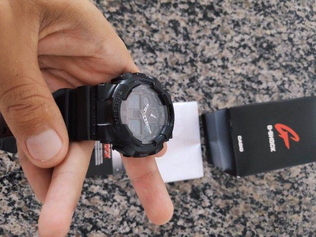 Vendo G-Shock GA-100 preto  - Foto 2