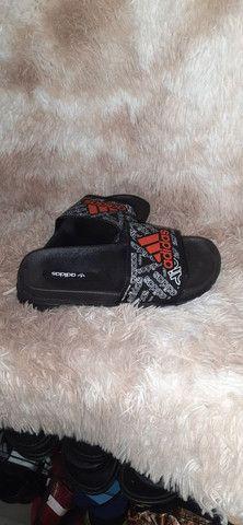 Chinelo slide Adidas n° 36 37 38 39 40 41 42 43 - Foto 3