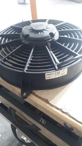 Eletro ventilador 24vlts valor 170 reais  - Foto 2