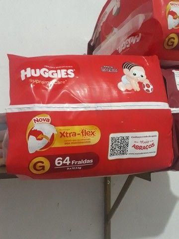 HUGGIES extra-flex 64 Fraldas  - Foto 2