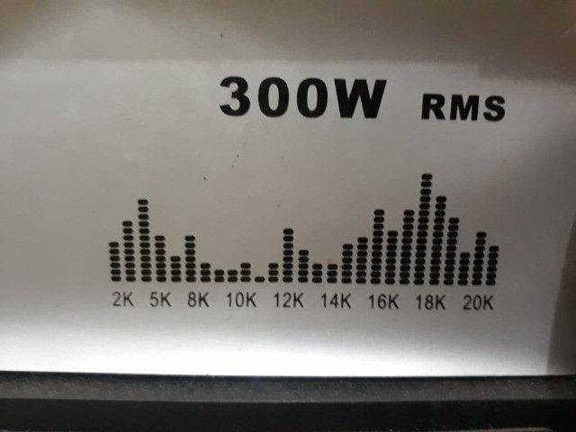 Conjunto de Caixa de som amplificadora vicini vc 7300 - Foto 2
