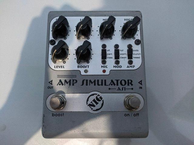 Pedal Simulador de Amplificador Nig AS1