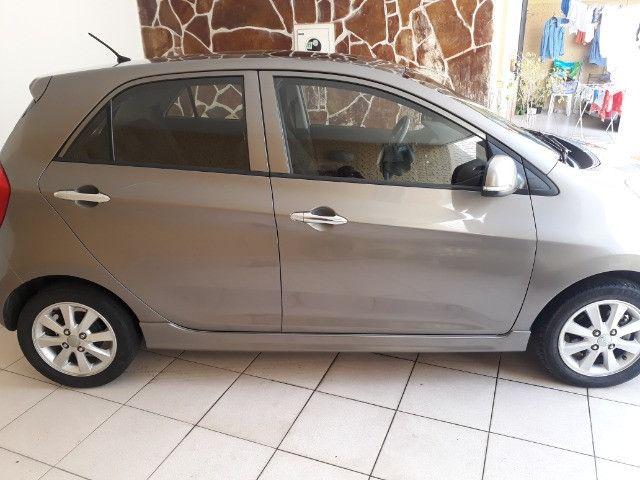 Kia/ Picanto perfeito estado, carro de única dona - Foto 5