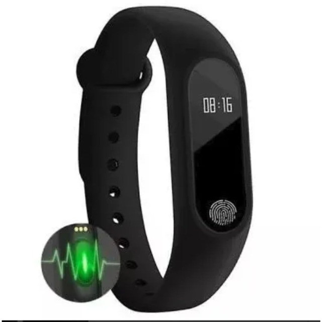 Pulseira Inteligente Smartband Bluetooth M2 Monitor Cardiaco - Foto 2