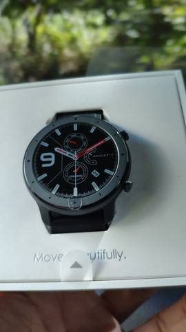 Relógio Amazafit GTR Lite 47mm - Foto 2