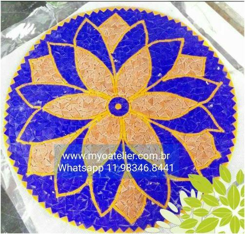 Mandala para Piso mosaico - Foto 3