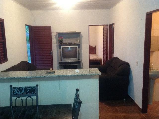 Chácara em caldas toda cercada,casa 3 dormitórios,quiosque,rio pirapitinga,poço de peixe - Foto 19