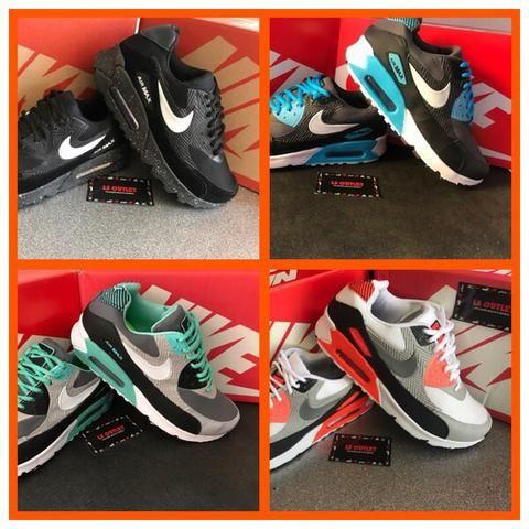 b9bd31d9b35 Tênis Nike AIRMAX90 várias cores  99 reais - Roupas e calçados - Cj ...