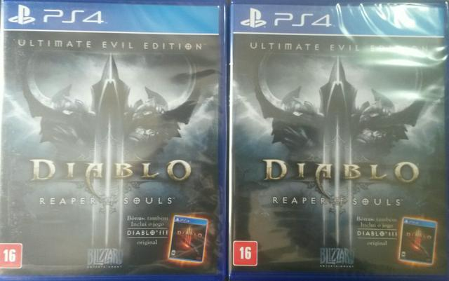 Diablo 3 The ultimate edition ps4 ( pronta entrega! )
