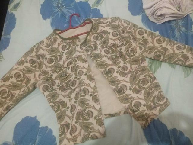 Jaqueta colorida