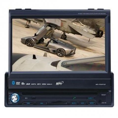 DVD Portátil com GPS