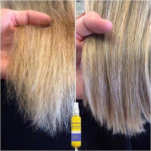 Óleo de Argan Sallon Hair Reparador de Ponta 120 ml - Foto 2