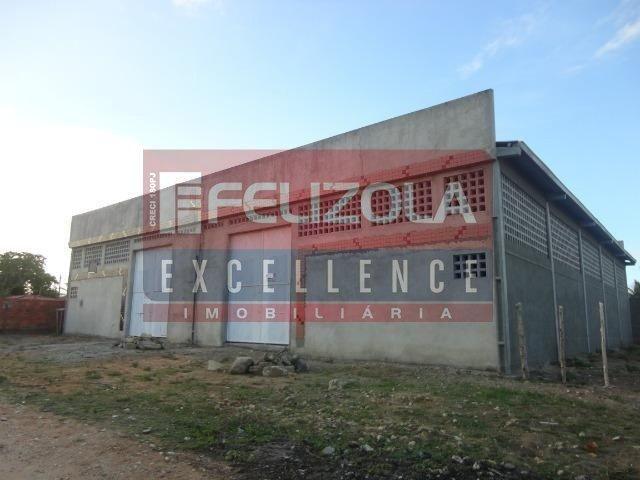 Galpão/depósito/armazém para alugar em Zona de expansão (areia branca), Aracaju cod:121