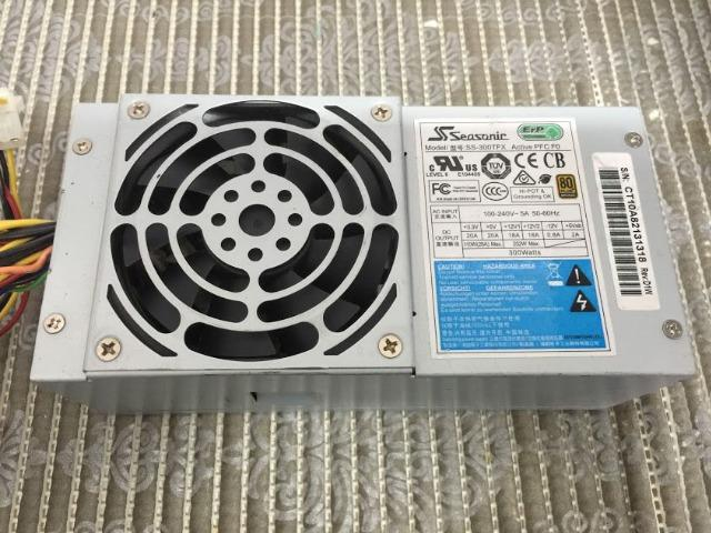 Fonte Slin 300wts Seasonic SS-300tft Para Dell Optiplex 3010/ 7010/390/790