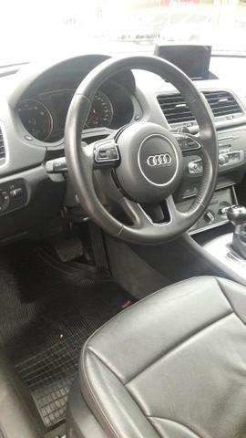 03- km super baixo *Audi Q3* 1.4 turbo + couro 2018 - Foto 6