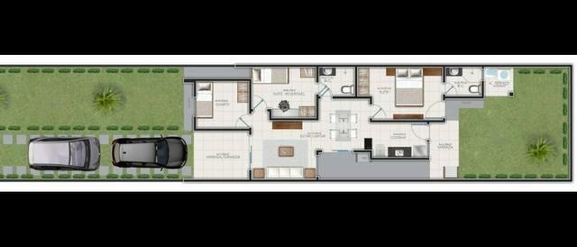 Grande lançamento no Eusébio casas planas 3 quartos - Foto 4