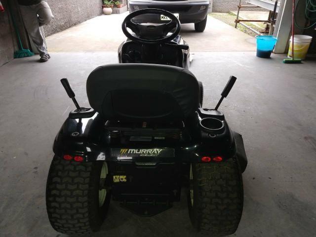 Trator Cortador de Grama - 18,5HP - Murray - Foto 4