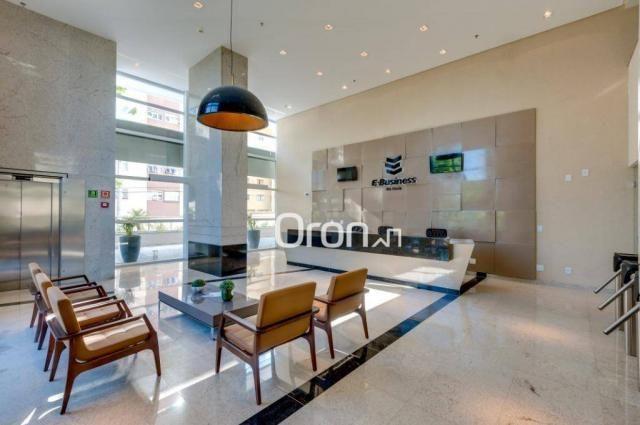 Sala à venda, 101 m² por r$ 676.000,00 - vila são tomaz - aparecida de goiânia/go - Foto 3