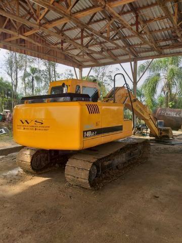Escavadeira Hyundai 140 - Foto 3