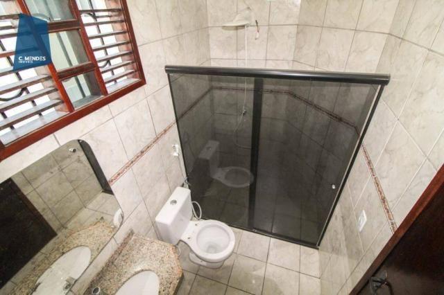 Casa com 3 dormitórios para alugar, 300 m² por R$ 2.000/mês - Cidade dos Funcionários - Fo - Foto 8