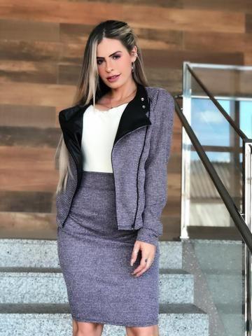 3012e94d7ebc Conjunto Evangélico Social Executivo Feminino moda Chic - Roupas e ...
