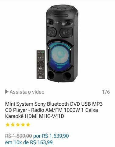 Mini System Sony Bluetooth