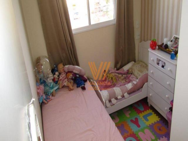 Apartamento com 3 dormitórios à venda, 64 m² por R$ 315.000,00 - Cajuru - Curitiba/PR - Foto 17