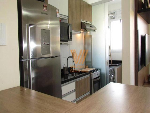 Apartamento com 3 dormitórios à venda, 64 m² por R$ 315.000,00 - Cajuru - Curitiba/PR - Foto 7
