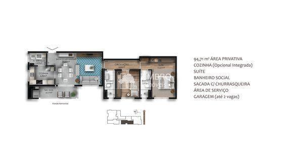 Edifício Montline - Entrega para Dez 2020 - Luxo, Requinte, Comodidade - Foto 13